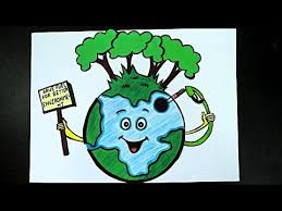 World Environment Day Poster Drawing On Environment Day Poster Making Competition