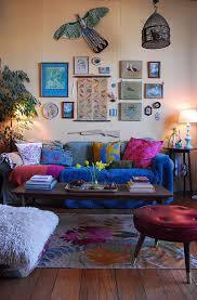 Bohemian Living Room Designs