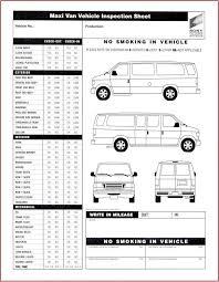 Automotive Body Design Pdf 015 Vehicle Inspection Checklist Template Form Pdf Resume