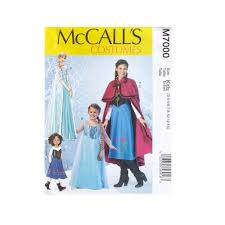 Mccalls Costume Patterns Mesmerizing McCall's Girls PatternsWinter Princess Costume Pattern Girls