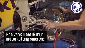 Motor ketting smeren