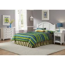 white queen bedroom sets. Home Styles Bermuda Brushed White Queen Bedroom Set Sets