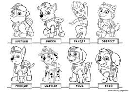 Coloring Pages Paw Patrol Colouring Page Kids Free Free And Cute