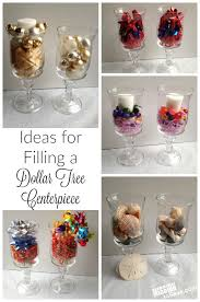 easy fall home decor with a dollar tree centerpiece
