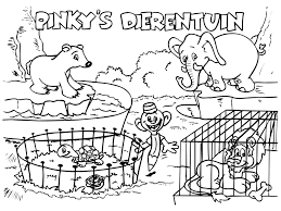 Small Picture Coloring Page Zoo coloring pages 3