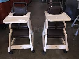 pci auctions restaurant equipment commercial with rubbermaid high chair ideas 18