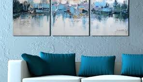 full size of teal and gold metal wall art gorgeous blue canvas for navy large drop