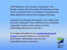 How To Figure Out Payroll Tax How To Calculate And Report Your Employee Payroll Tax