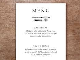 pages menu template printable menu kate wills printable menu menu templates and menu