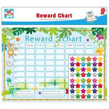 children rewards charts children s educational animal good behaviour reward chart 6pc