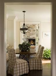 beige buffalo check dining chairs i need these in my breakfast area