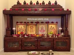 God Mandir Designs Pooja Mandirs Usa Chitra Collection Open Model Temple