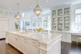 lantern kitchen island lighting. fine lantern a pair of restoration hardware victoria hotel pendants illuminate an  extralong kitchen island topped with white marble framing square sink and polished  throughout lantern kitchen island lighting