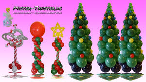 Columns For Decorations Balloon Christmas Tree Column Decoration Ballon Weihnachtsbaum