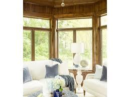 Contemporary Sunroom Furniture Living Room Transitional Sunroom Navy Animal Print Cream Modern