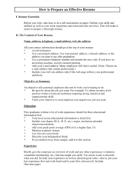 Resume And Cover Letter Guide Resume Competence Human Resources
