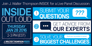 webinar inside out loud live panel discussion