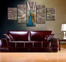 amazing 1 pc fl canvas wall art oil paintingspaintings for pertaining to canvas wall art popular
