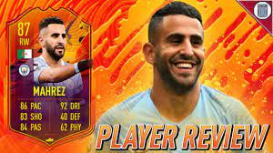 87 SBC HEADLINERS MAHREZ PLAYER REVIEW! - FIFA 21 ULTIMATE TEAM - YouTube