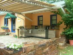 Best Outdoor Kitchen Designs Matchless Polymer For Outdoor Kitchen Cabinet On Matte Black Best