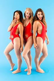 get your swimsuits ready and wear a baywatch costume for brit co