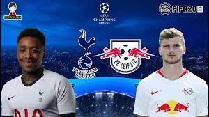ยูฟ่า แชมเปี้ยนส์ ลีก รอบ 16 ทีมฯ | สเปอร์ส พบ ไลป์ซิก | FIFA 20 |  ครั้งแรกที่ทั้งคู่เจอกัน! - YouTube