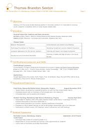 Political Science Resume Sle Political Science Resume Template