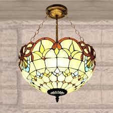 antique tiffany chandelier studios three light chandelier