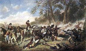defeat in war. it was a complete and utter surprise for both sides an accidental collision in the woods english now had false sense of security defeat war t
