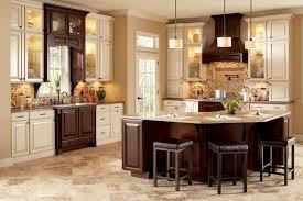 Two Tone Kitchen Cabinet Two Toned Kitchen Cabinets Perfumevillageus