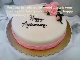 Birthday Cake For Husband Marriage Anniversary Cute Cake Love Quotes