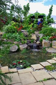 Small Picture landscaper Garden Waterfalls Stratford on Avon