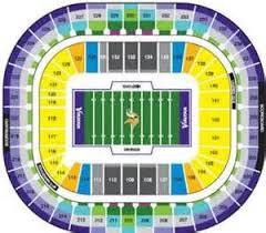 Super Bowl 51 Seating Chart Minnesota Vikings Seating Chart Bing Images Minnesota