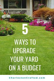 Do you want to get curb appeal on a budget? Get this printable guide to how  to upgrade your yar… | Easy landscaping, Backyard ideas for small yards,  Budget backyard