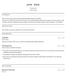 Download Resume Builder | Oakandale.co