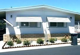 aluminum awnings mobile homes window awning for manufactured used home tucson az
