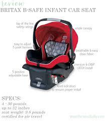 britax b safe review