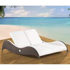 photo of outdoor double chaise lounge with double chaise lounge on hayneedle double chaise lounge outdoor
