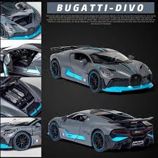 Yala yolo store brings you the best high quality built miniature diecast car models with unique features to all of its highly detailed car models. Contemporary Manufacture 1 24 Bugatti Divo High Speed Die Cast Metal Alloy Toy Race Car New Gift For Kid Thundercanyonbrewery