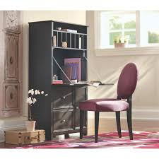 Small Picture Home Decorators Collection Oxford Tall Secretary Desk in Black