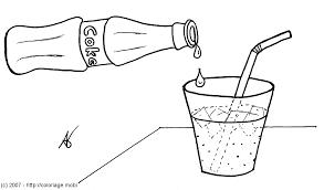 Coloriage De Bouteille De Vin De Champagne A Colorier Galleryl