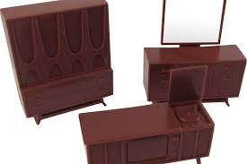 mid century modern dollhouse furniture. Mid Century Modern Dollhouse Furniture 3 Pieces From R