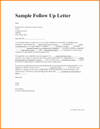 Follow Up Letter To Resume 10 Sample Follow Up Email After