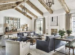living spaces home furniture. oneofakind furnishings fill a pacific palisades home that strikes an long living roomsrustic spaces furniture m
