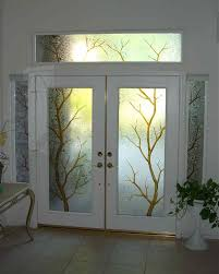 white front door with glass. Performance With Art Glass. Front Door Glass White D