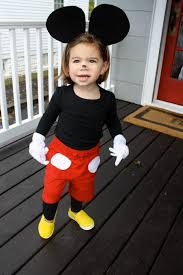 diy costume mickey mouse