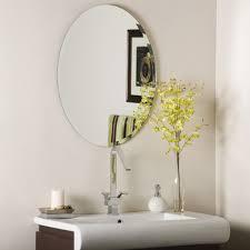 oval bathroom mirrors canada