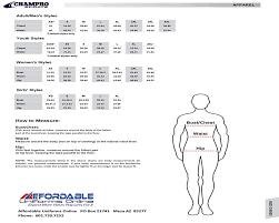 Little League Uniform Size Chart Size Chart