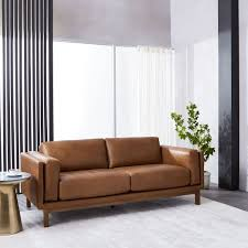 who makes west elm furniture. dekalb leather sofa 85 who makes west elm furniture