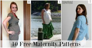 Maternity Patterns Custom 48 Free Maternity Patterns